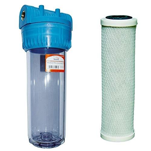1 kit 'bsp sistema de filtro purificador de agua para toda la casa con filtro de carbono incluido Invena