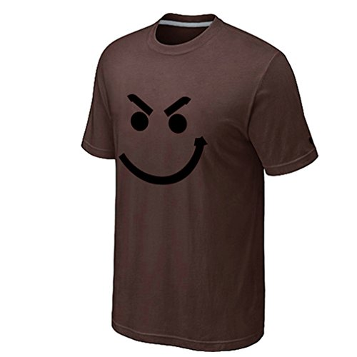 Chocolate Lovers Bikini (Men's Have A Nice Day Rock T-Shirt (Chocolate Medium))