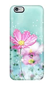 Shock-dirt Proof Colorful Flower Blossoms Case Cover For Iphone 6 Plus