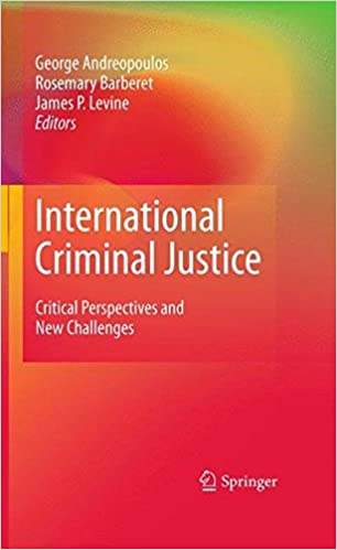 Descargar Ebook Torrent International Criminal Justice: Critical Perspectives And New Challenges Kindle Lee Epub