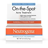 Neutrogena On-The-Spot Acne Treatment Vanishing Cream Formula 0.75 oz (Pack of 3)