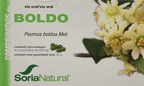 Soria Natural Boldo Combinacion de Multivitaminas y Minerales - 60 Tabletas