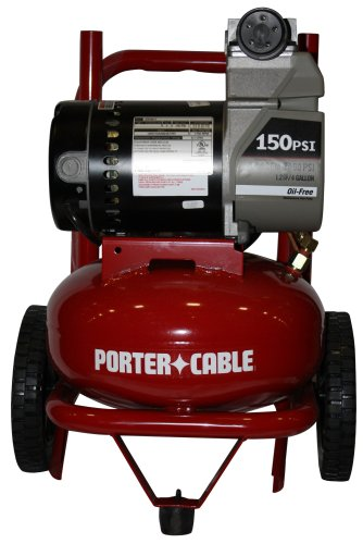 UPC 039404129796, PORTER-CABLE C2150 15 Amp 2-Horsepower 4-Gallon Oil-Free Wheeled Pancake Compressor