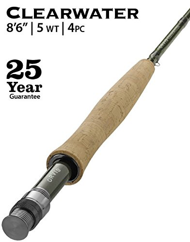 5wt 4 Piece Fly Rod - Orvis Clearwater 5-weight 8'6