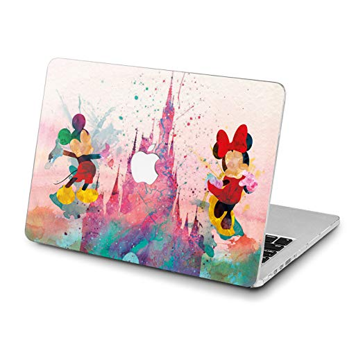 Lex Altern MacBook Case Beautiful Disney Pro 15 inch Air 13 12 11 2018 Mac A1990 A1708 Light Weight Retina Cover Mickey Mouse Hard Apple 2017 2016 Protective Print Touch -
