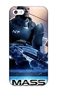Perfect Fit CwKDfno4259xdsFD Mass Effect Case For Iphone - 5/5s Sending Free Screen Protector