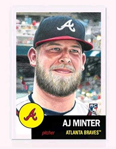 (2018 Topps The MLB Living Set Baseball #119 A.J. Minter RC Rookie Atlanta Braves Online Exclusive MLB Trading Card SOLD OUT at Topps)