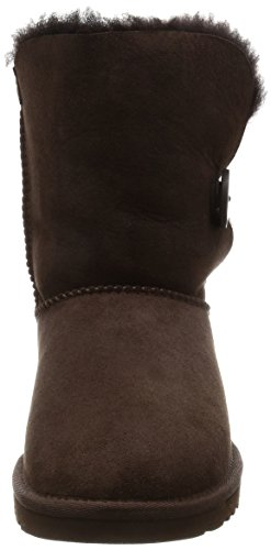 Mujer Button 5803 Choco Bailey UGG Marrón Planas Botas 6Znc8FFPx