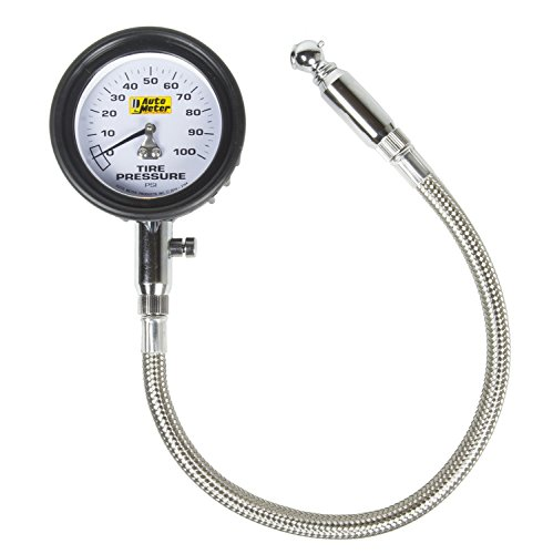 Auto Meter 2164 100 psi Tire Pressure Gauge