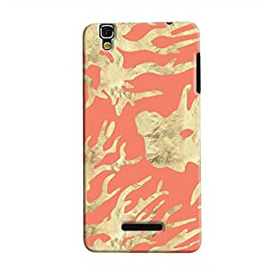 Cover It Up - Red Nature PrintYU Yureka Hard case