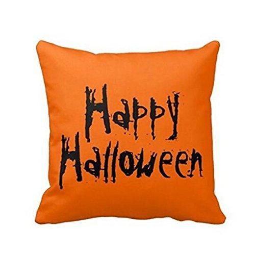 BoyYang - Funda de cojín para Halloween, Mezcla de algodón ...