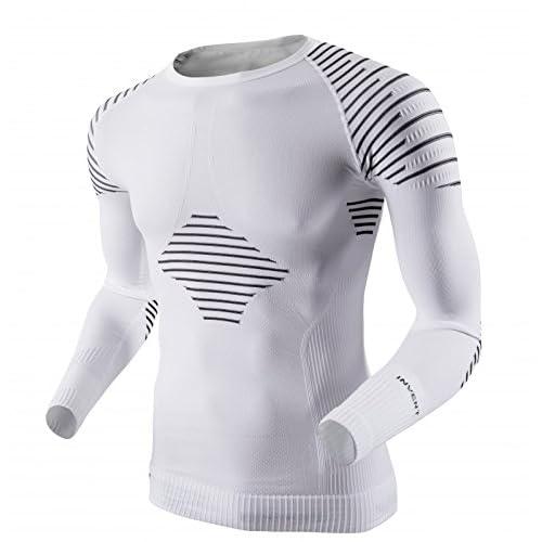 X-BIONIC Invent T-Shirt manches longues Homme Noir/Anthracite