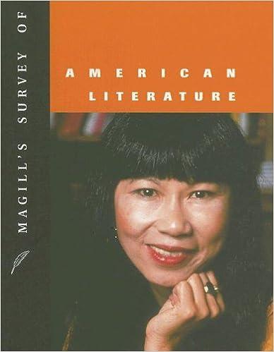 Book Magill's Survey of American Literature, Volume 6: Steinbeck-Zindel