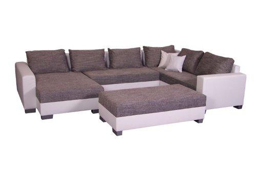 Wohnlandschaft Olga Inkl Hocker U Form Sofa Amazon De Kuche