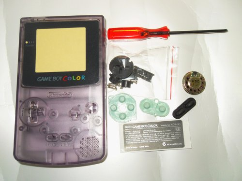 Replacement Housing Nintendo Color Atomic Purple packaging product image