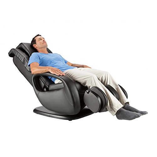 WholeBody 7.1 Swivel-Base Full Body Relax and Massage Chair | Warm Air Heating | Easy Customizable Massage | Retractable Ottoman | Black Color Option