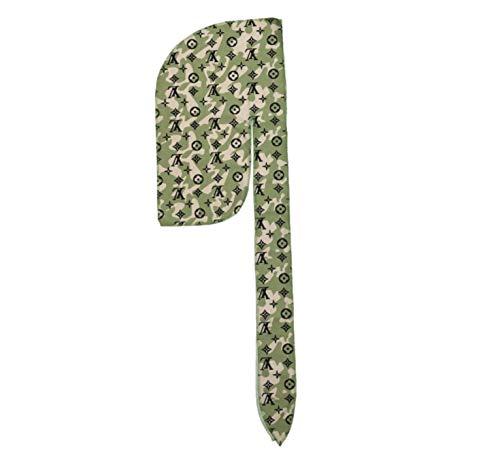 Slippery Apparel | Designer Durag Fashion Durags LV Supreme Ape & More - Limited Edition (Camo Lv)