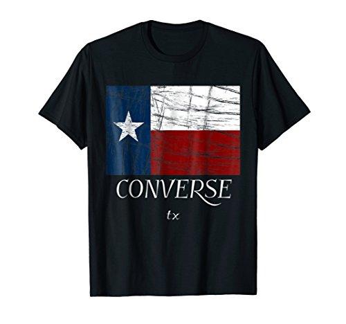 Converse TX - T-Shirt | Distressed, Vintage Texas Tee]()