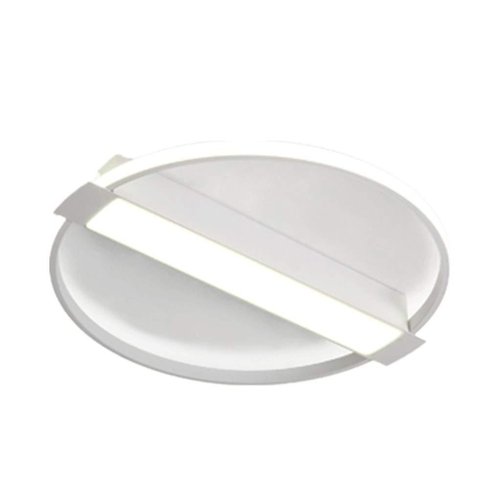 Pale 40cm x 5cm La lumière de plafond a Hommesé la lumière blanche simple moderne de lampe de chambre à coucher à la maison lampe de salon ronde 40cm x 5cm pÂle