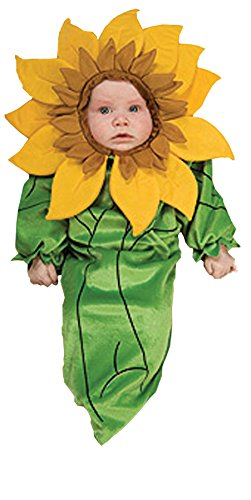UHC Baby's Sunflower Bunting Infant Newborn Fancy Dress Halloween Costume, 0-6M -