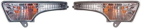 NI2530118 DOT Certified Fits Nissan Altima Sedan 2013-2014 Parking Signal Pair Driver and Passenger Side Assembly Pair Driver and Passenger Side NI2531118
