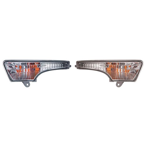 CarLights360: Fits 2013 2014 2015 NISSAN ALTIMA Front Signal/Corner Light Pair Driver and Passenger Side W/Bulbs (NSF Certified) Replaces NI2530118 NI2531118