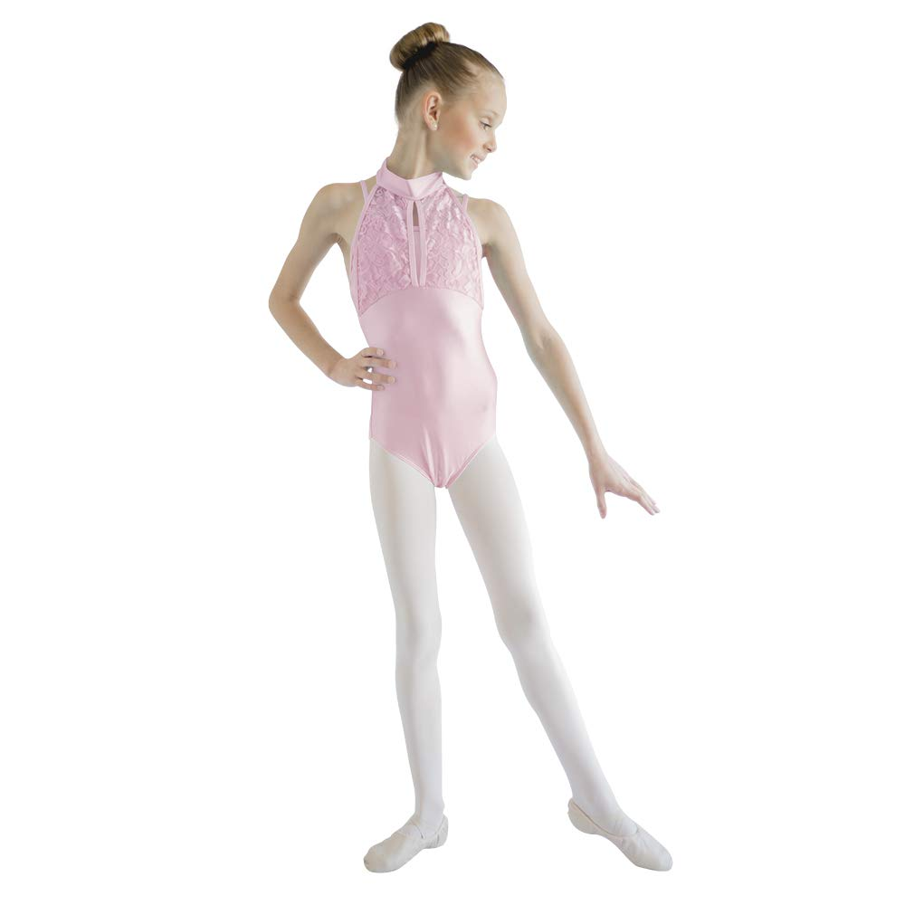 d0a4c31a55f2 Amazon.com  HDW DANCE Girls Ballet Dance Leotard Tank Turtle Neck ...