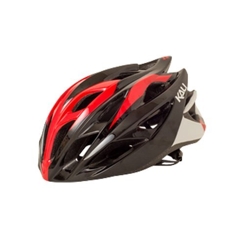 Draft Helmet - Kali Protectives Ropa Draft Road Bike Helmet Black/Red S/M
