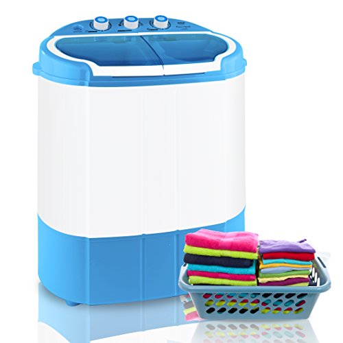 Pyle Portable Washer & Spin Dryer, Mini Washing