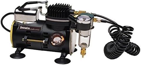 Compresor silencioso Iwata IS-875 SMART JET PRO para aerografo