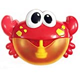 Moonideal Crab Bubble Bath Toy | Crabs Automatic Bubble Blower Machine for Toddler | Let Baby Love Bathing