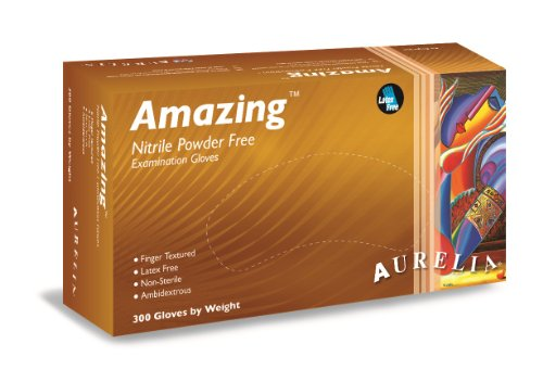 Aurelia Amazing, Violet Ultra-Thin Nitrile Gloves, 2.0 Mil T