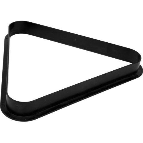 - Billiards 8 Ball Triangle Rack - Pool Table Equipment Snooker Accessories for Regulation Size Billiard Balls