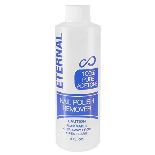 (Eternal Professional Nail Polish Remover | 100% Pure Acetone (8 oz.))