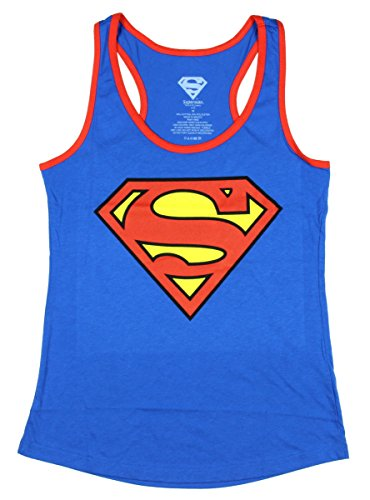 Superman+tank+tops Products : Superman Symbol Juniors Racerback Tank Top