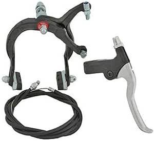 for Bicycle Brake Bike Brake Lowrider U Brake Front Alloy Black