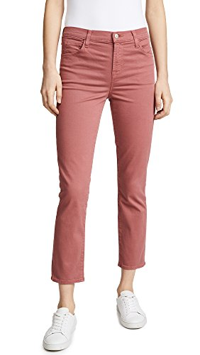 J Brand Women's Ruby High Rise Crop Jeans, Begonia, 26 by J Brand Jeans