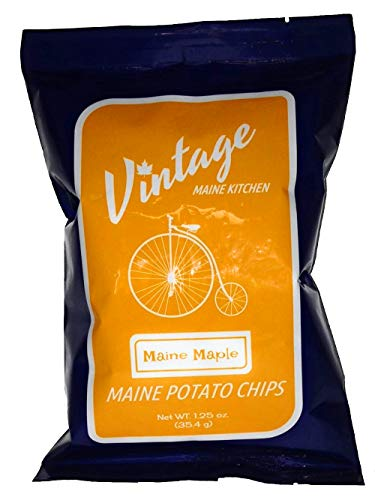 Vintage Maine Kitchen Small Batch Maple Potato Chips - 12pk made in New England