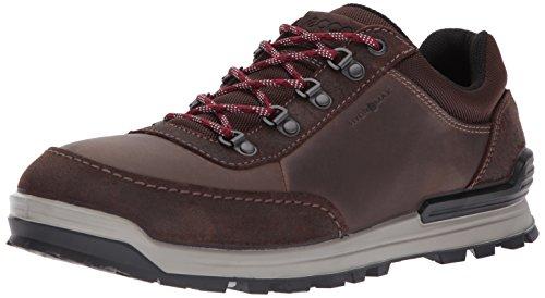 ECCO Men's Oregon Retro Sneaker Hiking Boot,Coffee/Coffee,44 EU/10-10.5 US ()
