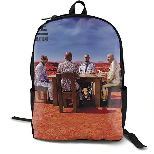 (Muse Black Holes And Revelations Unisex,lightweight,durable,school Backpack,multi-function Backpack,travel Backpack,school Bag)