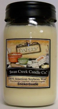 24 Oz Candle - Swan Creek Candle Snickerdoodle 24 Oz