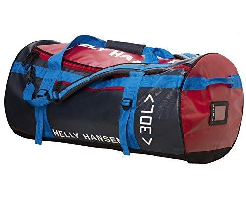 Helly Hansen HH 90-Liter Duffel Bag, Navy Checks, Standard by Helly Hansen