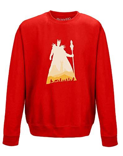 The Fellowship, Adults Sweatshirt - Red L ()