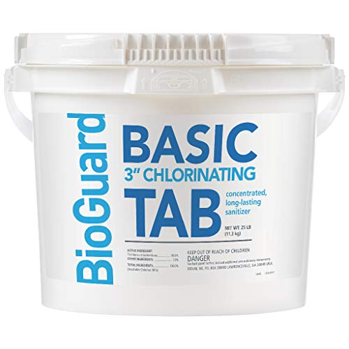 Bioguard Basic 3' Chlorine Tablets - 25 Lbs