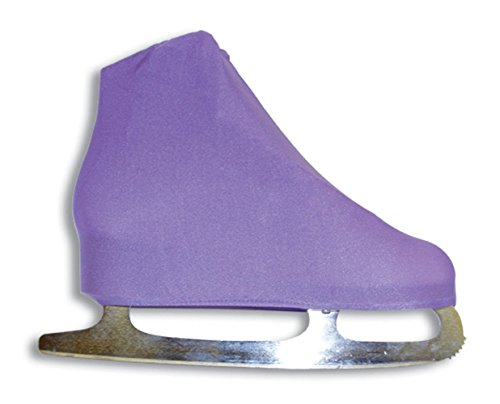 A&r Universal Figure Skate Cover Lycra Stretch Ice Skate Boot Cover Lilac 5 ()