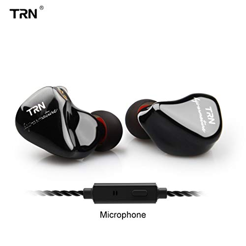 2019 New Smartphone Wired Headset Eight-Unit Ring Iron Headphones Phone Subwoofer Wired with Mic (Best Custom In Ear Monitors 2019)