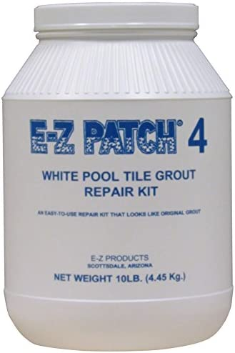 EZ Patch 4 White Pool Tile Grout Repair 10 lb.