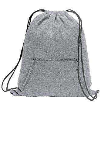 Port & Company Sweatshirt Cinch Pack BG614 Athletic Heather One -