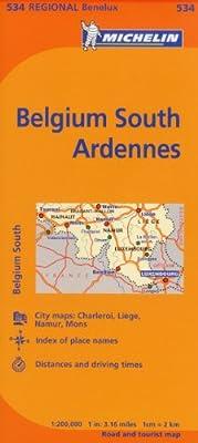 Michelin Belgium South Ardennes: 534 (Michelin Maps): Amazon.es: Michelin: Libros en idiomas extranjeros