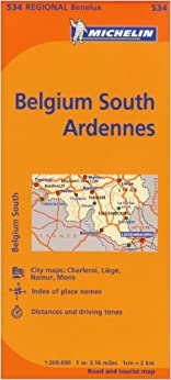 ''LINK'' Michelin Map Belgium: South, Ardenne 534 (Maps/Regional (Michelin)). Venta Smooth easily podra traves mesas Index rutas 41QO-t5iKFL._SY344_BO1,204,203,200_